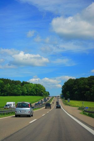 country highway: Country Highway in France
