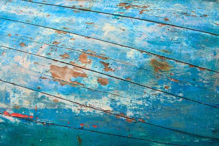 Old fishing boat textured background photo