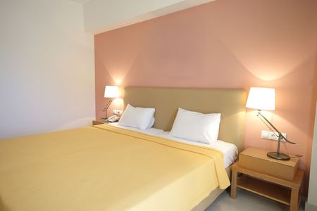 Room of a luxuus hotel in Greece Stock Photo - 5151180