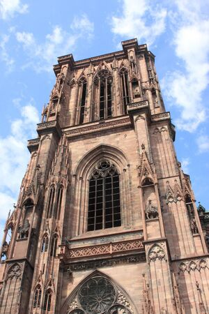 Cathedral Notre Dame, Strasbourg, Alsace, France Stock Photo - 7638286