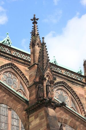 Cathedral Notre Dame, Strasbourg, Alsace, France Stock Photo - 7638109