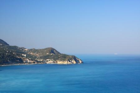 summer on the beach in Agios Nikitas Greece Stock Photo - 7637223