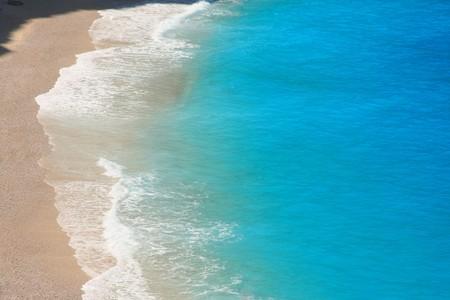 ionio: Porto Katsiki beach at Lefkada island, Greece   Stock Photo