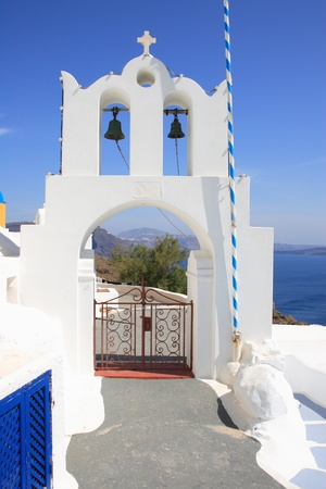 Church in Oia - Santorini island Greece Stock Photo - 9662472