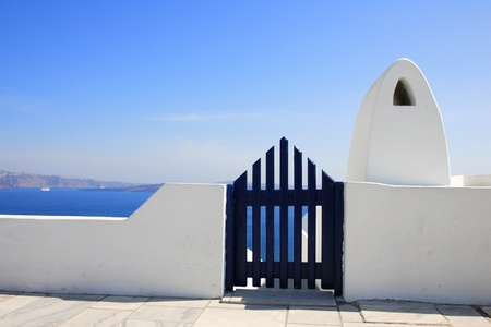 santorini: Gate to the sea - Santorini island