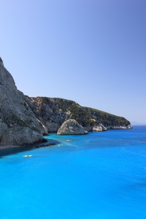 Lefkada porto Katsiki beach Greece photo