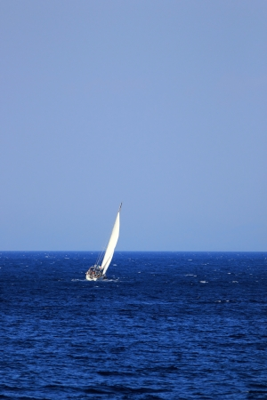 Sailing in Greece around the Ionian islands photo
