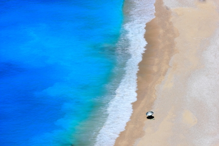 kefalonia: The famous Myrtos beach of Kefalonia