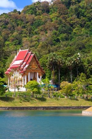 budhist temple in Phuket Thailand Stok Fotoğraf
