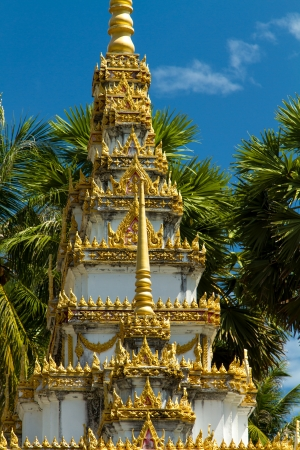 budhist temple in Phuket Thailand photo