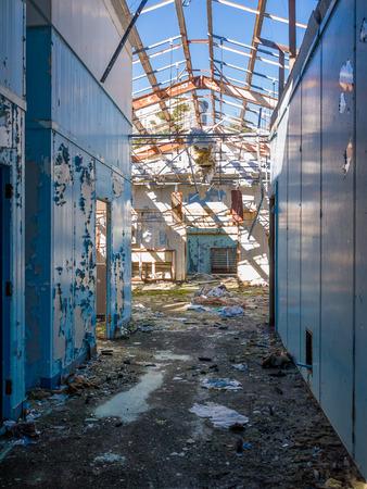 barracks: Apocalypse abandoned base Military barracks