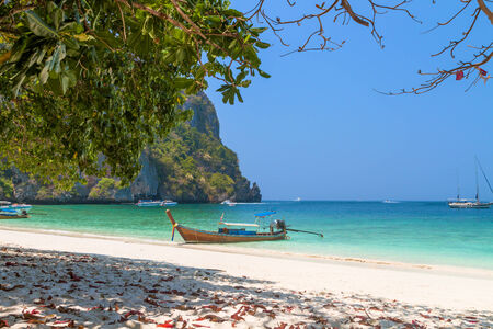 Monkey Bay, Koh PhiPhi Island, Thailand photo