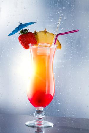 Fresh Sex on the beach cocktail photo