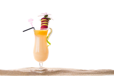 Fresh Sex on the beach cocktail photo