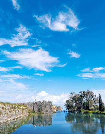 ionio: The castle of Lefkada in Greece