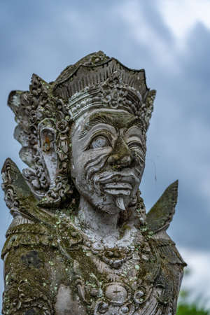 Traditionnal statue of Balin in Indonesia