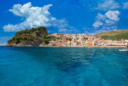 The Greek village of Parga in Epirus