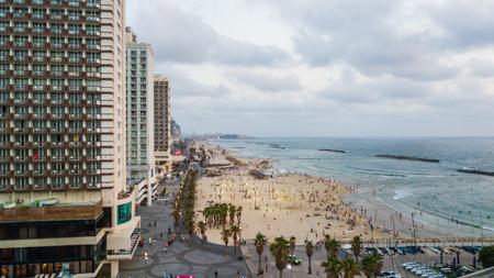 Tel Aviv Beach Evening