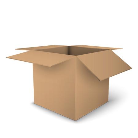패키지 상자 일러스트