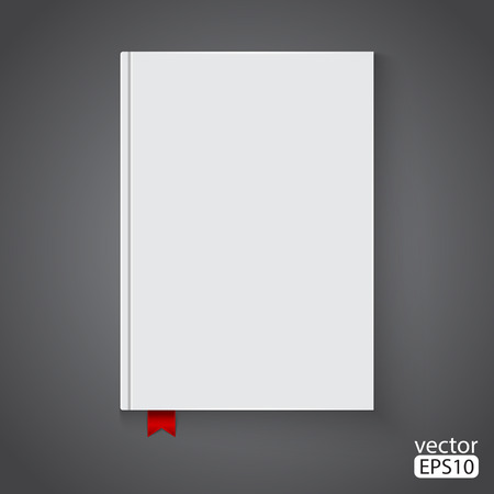 notebook cover: Blank book cover
