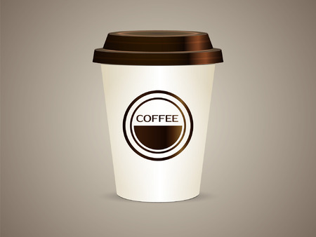 cup of coffee 일러스트