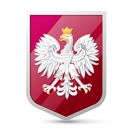 poland flag: Coat of arms of Poland