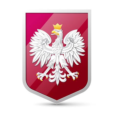 Wappen von Polen Vektorgrafik