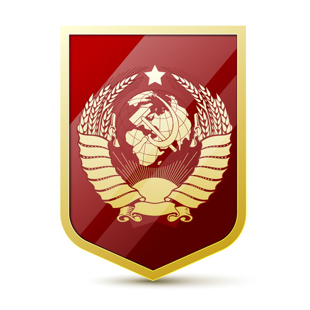 hammer and sickle: Coat of arms Soviet Union