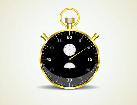 second hand: stopwatch