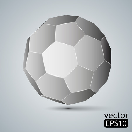 Icosaedro truncado Foto de archivo - 33332743