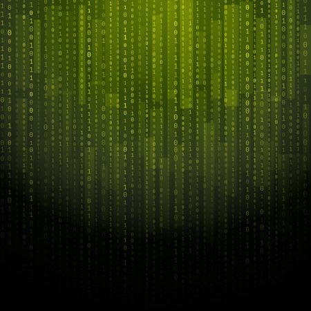 data matrix: Abstract matrix background