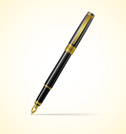 writing instrument: pen Illustration