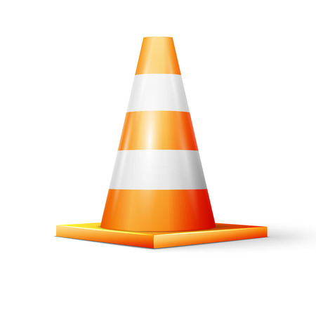traffic   cones: Vector illustration of traffic cone, excellent vector illustration Illustration