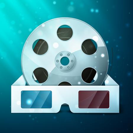 3D glasses for film