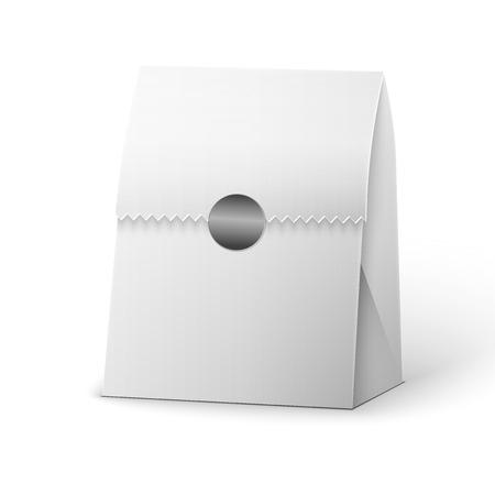coffee sack: Paper Bag Package Illustration