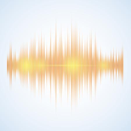Illustratie van een Music Equalizer, uitstekende vector illustratie, EPS-10 Stock Illustratie