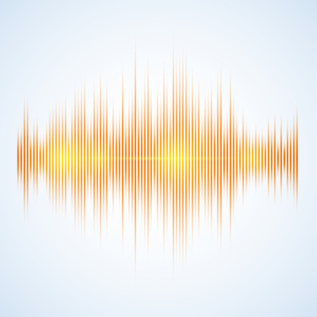 Illustration of a Music Equalizer, excellent vector illustration, EPS 10