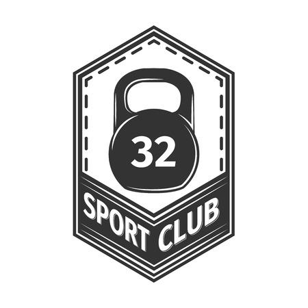 sport club: Vector set sport emblems. badges and labels, Sport club icon Illustration