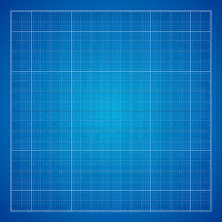 graphing: Fondo azul del papel cuadriculado, excelente ilustraci�n vectorial, EPS 10