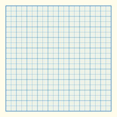 Graph grid paper background, excellent vector illustration, EPS 10 Vector
