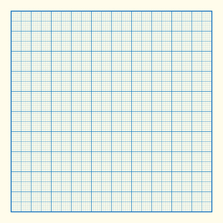 Graph grid paper background, excellent vector illustration, EPS 10