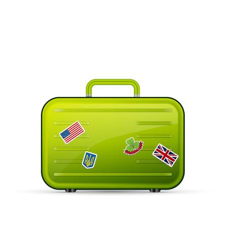 turista: equipamentos Viajando mala turista