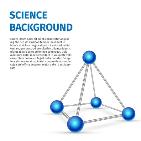 Science-background isolated on white , excellent vector illustration, EPS 10 illustration