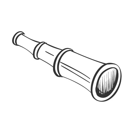 spyglass: doodle spyglass design element