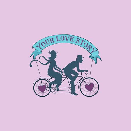 fashion story: Love story Logo Symbol For Your Design