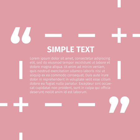 cite: Square quote text bubble. Inspirational Quote. Text Speech Bubble. You can do anything. Vector illustration.