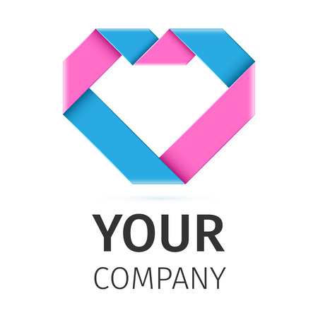 heart health: Heart logo template. Healthcare Corporate branding identity Illustration