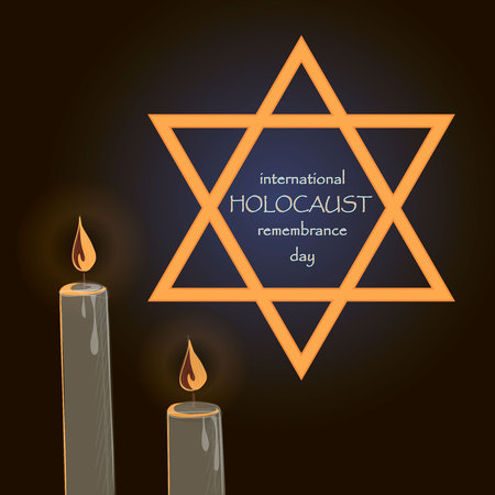 holocaust: Holocaust Remembrance Day. Vector illustration