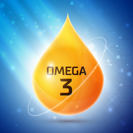 canola: Omega 3 icon Illustration