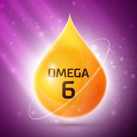 canola: Omega 3 icon Illustration